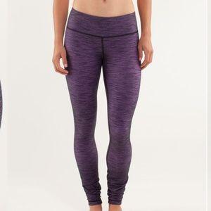 Lululemon Wunder Under Pant Denim Violet Size 6